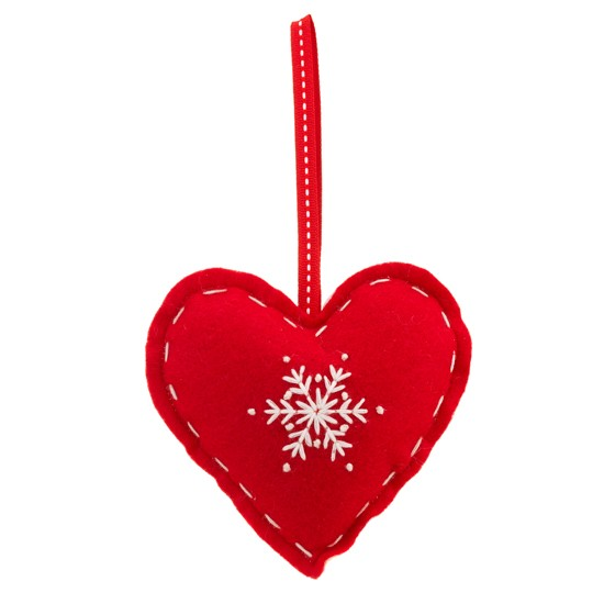 Christmas Tree Decorations Hearts | Christmas Decorating