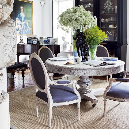 Dramatic Dining Room Design: Dramatic Dining Room