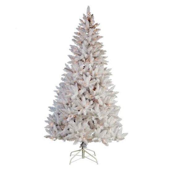 Argos Christmas Trees And Decorations: White Spruce Tree From Argos