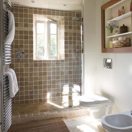 French Country Bathroom Flooring: Shower Room Ideas To Inspire You