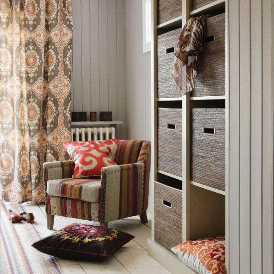 Housetohome Co Uk: Tribal-inspired Living Room