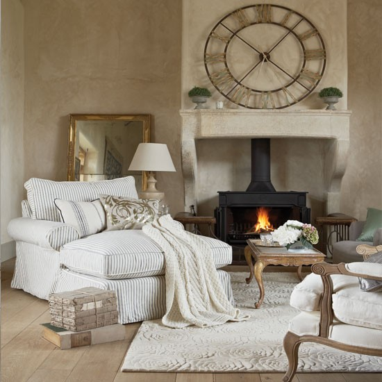 Cosy French-style Living Room