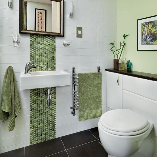 Green Mosaic Bathroom Bathroom Decorating Ideas