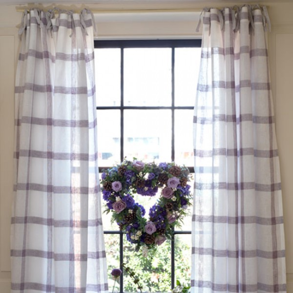 how to sew tie top curtains make your own curtains. Black Bedroom Furniture Sets. Home Design Ideas