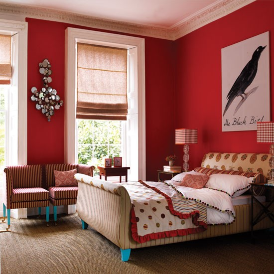 Bold Room Designs: Bedroom Decorating Ideas