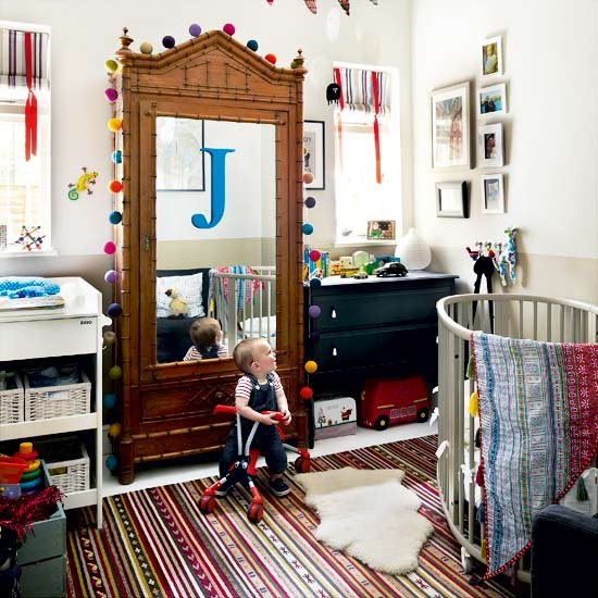 Child S Room: Take A Tour Around An Eclectic Garden Flat