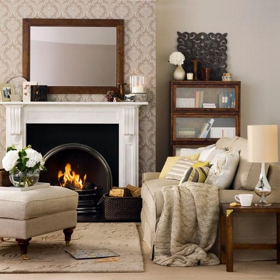 Living Room Decorating Ideas: Winter Living Room Decorating
