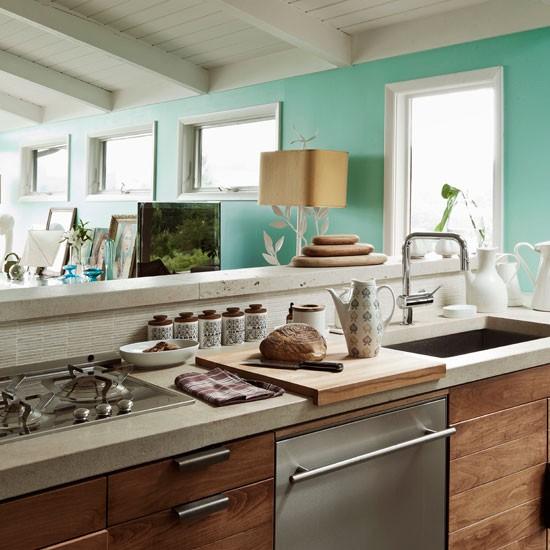 Housetohome Co Uk: Fresh Contemporary Kitchen