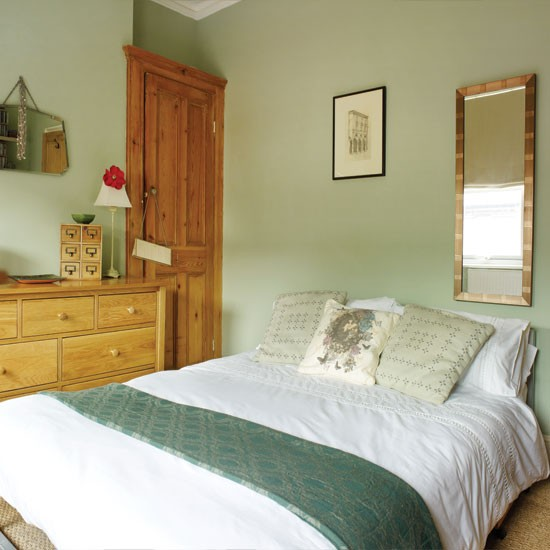 Pretty Pale Green Bedroom