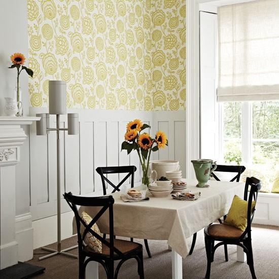 wallpaper dining room ideas - photo #21