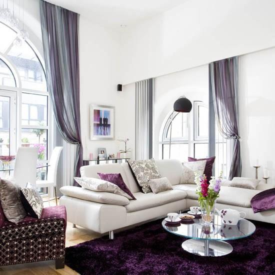 Interior Design Ideas For Living Rooms: Create Glamour