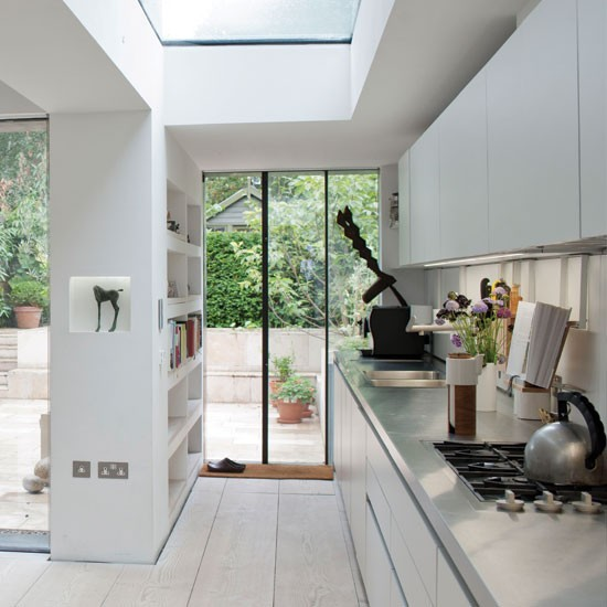 A Cramped Kitchen And Dining Room Become One Ideal: Modern Kitchen Extensions