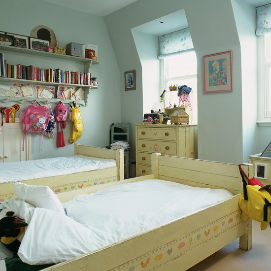 Cool Girly Bedrooms: Pink And Blue Rooms For Girls