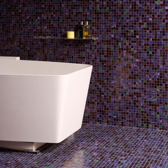 Mosaic Bathroom Tile Ideas: Modern Bathroom Flooring Ideas