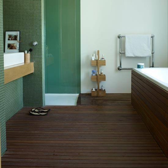 Most Creative Flooring Ideas For Your Modern Home: Modern Bathroom Flooring Ideas