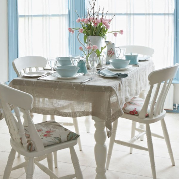 Dining Room Pads For Table: Co-ordinate Dining Chairs With