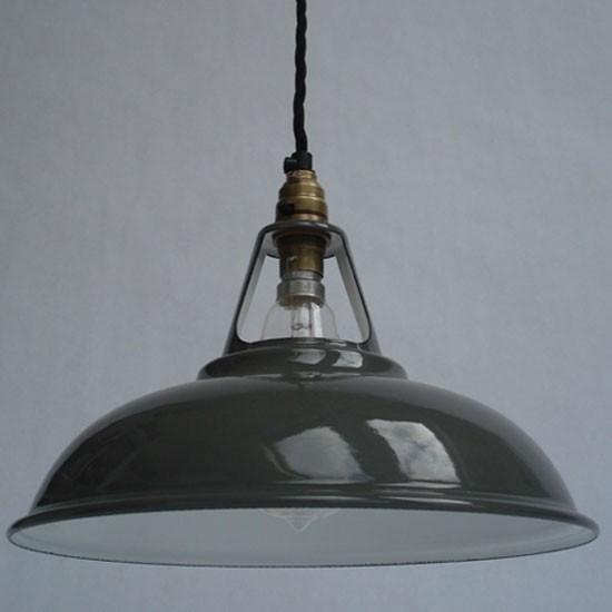 Best Workshop Lights: Enamel Workshop Shade From Historic Lighting
