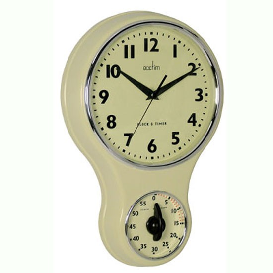 Acctim Kitchen Wall Clock And Timer From Homebase Wall