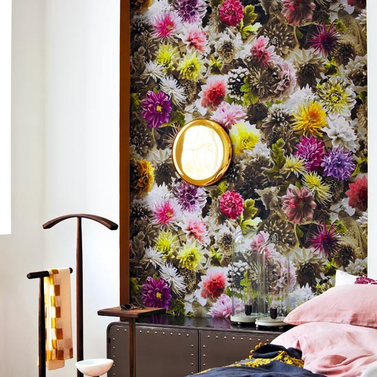 23 Floral Wallpaper Designs Decor Ideas: Modern Paint And Wallpaper Ideas