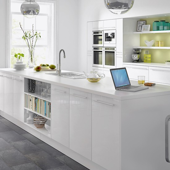 Kitchen Cabinets White Gloss: Budget Kitchens - 10 Of The Best