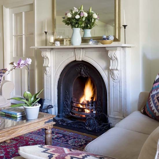Country House Living Room: House Tour - Georgian Country House