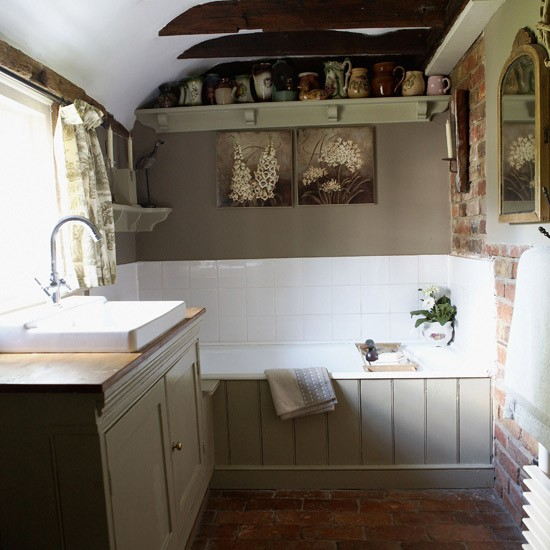 Bathroom Ideas For Small Bathrooms: Small French Country Bathroom