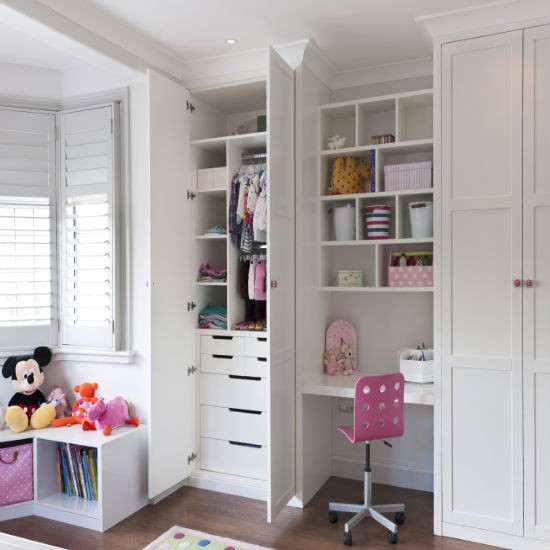 Best Built Furniture: Fitted Children's Storage And Wardrobes From Inhouse