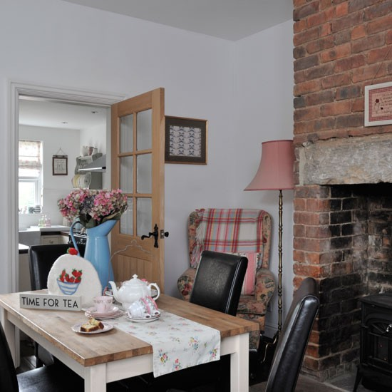Pretty dining room | Real homes - Vintage-style Victorian ...