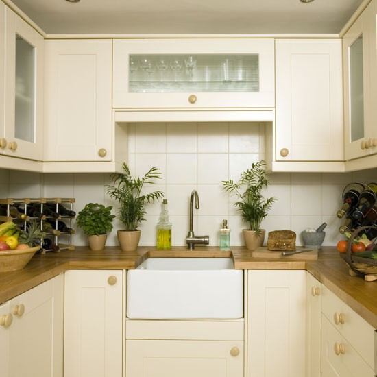Beautiful Efficient Small Kitchens: KitChen DeSign: Simple Design For Small Kitchens