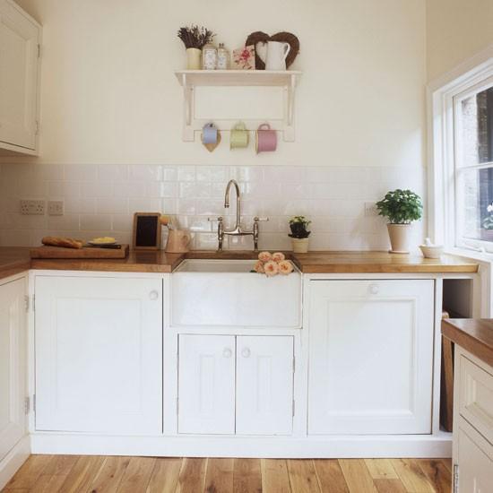 25 White And Wood Kitchen Ideas: Small Kitchen Design Ideas