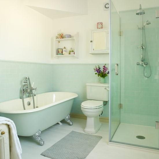 Green And Black Bathroom Ideas: Period-style Bathroom Ideas