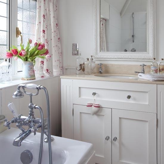 English Country Bathroom Designs: Real Homes - Elegant 1930s Surrey House