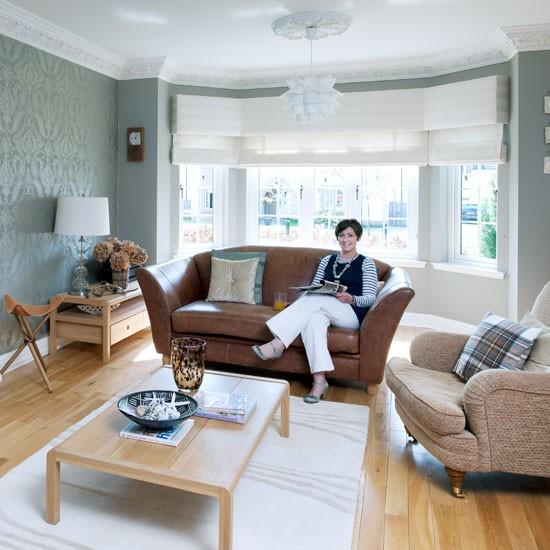 Duck Egg Living Room: New England Seaside Inspired Home