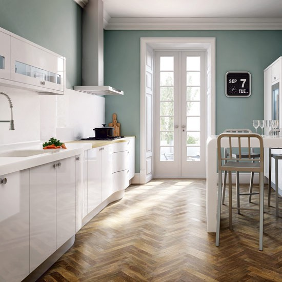 eleven design - Channel4 - 4Homes kitchen - Small Galley Kitchen With Dining Area Designs Uk