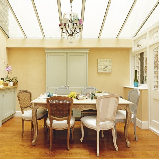 French Style Dining Room: Neutral French-style Dining Room