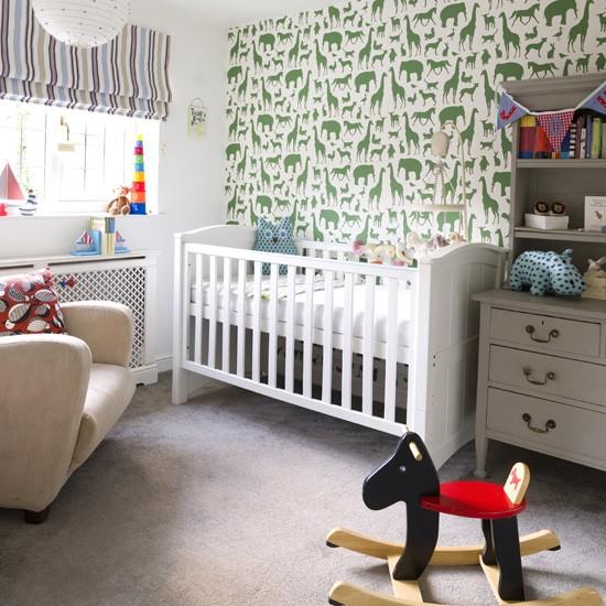Modern Nursery Wallpaper: Nursery Wallpaper Ideas 2017