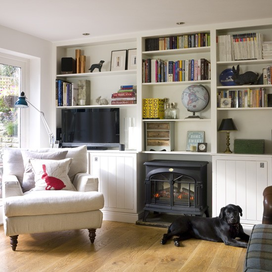 County living room storage living room storage - Living room shelf ideas ...