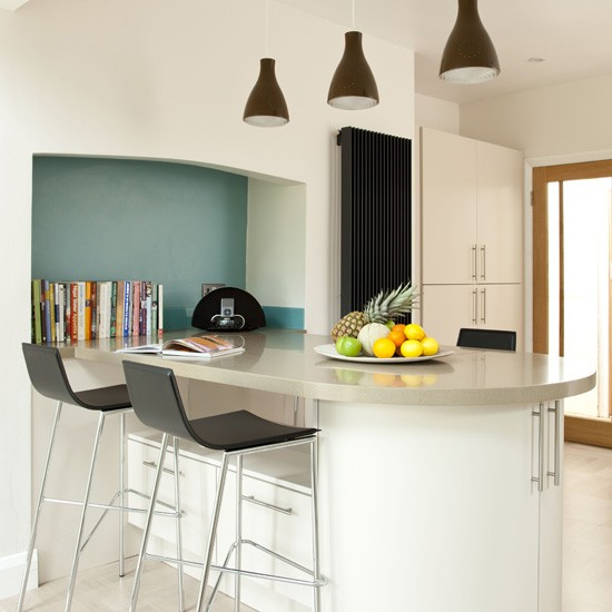 Modern kitchen breakfast bar | Modern kitchens
