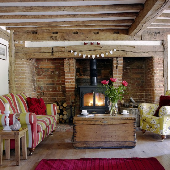 Colourful Country Living Room