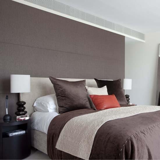 Round Bedroom Ceiling Bedroom Feature Wall Paint Ideas Bedroom Decorating Ideas Teenage Guys Lcd Cabinet Designs Bedroom: Feature Walls - 10 Ideas