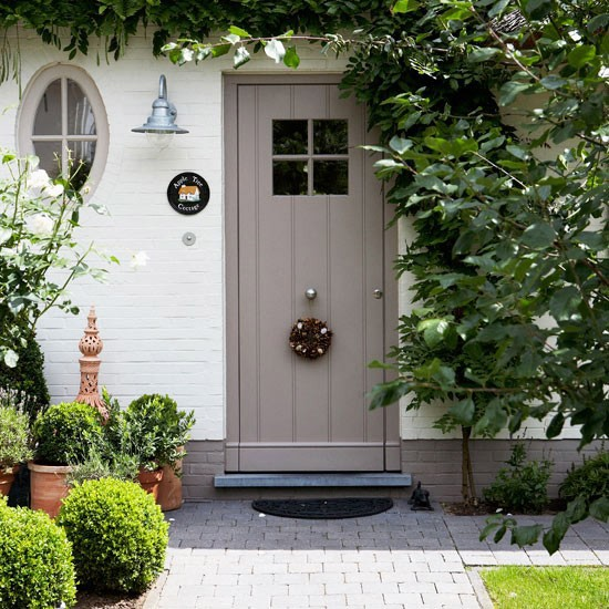Front Entrance Garden Design Ideas: Small Front Gardens On Pinterest