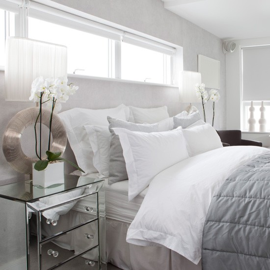White And Grey Room: White Bedroom Ideas With Wow Factor