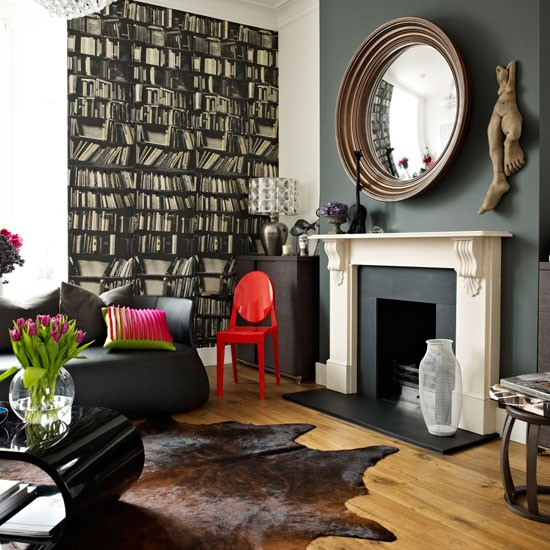 Victorian Living Room: Be Inspired By A Dark And Dramatic Victorian Town House