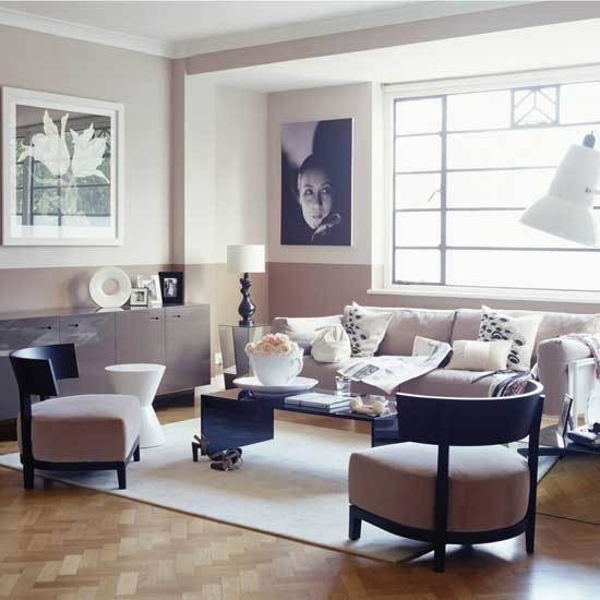 art deco style muted pink living room art deco decorating 10 ideas. Black Bedroom Furniture Sets. Home Design Ideas