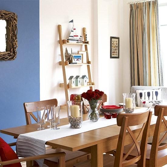 Seaside-style Dining Room