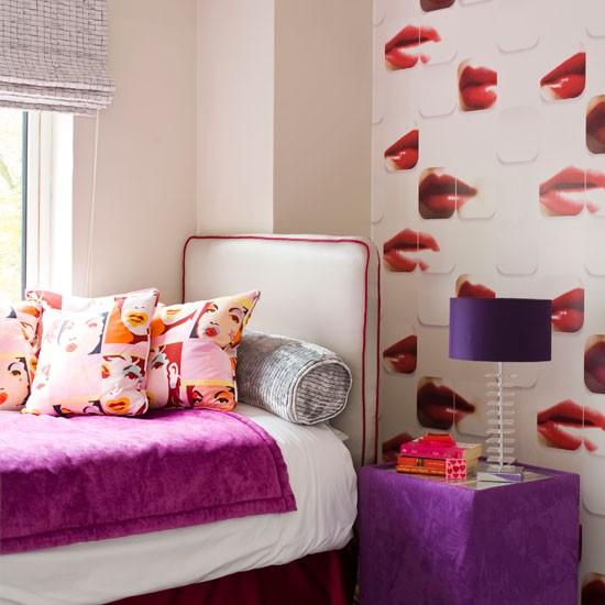 Bedroom Furniture Houston Pop Art Bedroom Designs Romantic Bedroom Background Bedroom With Area Rug: Pop Art-inpsired Bedroom