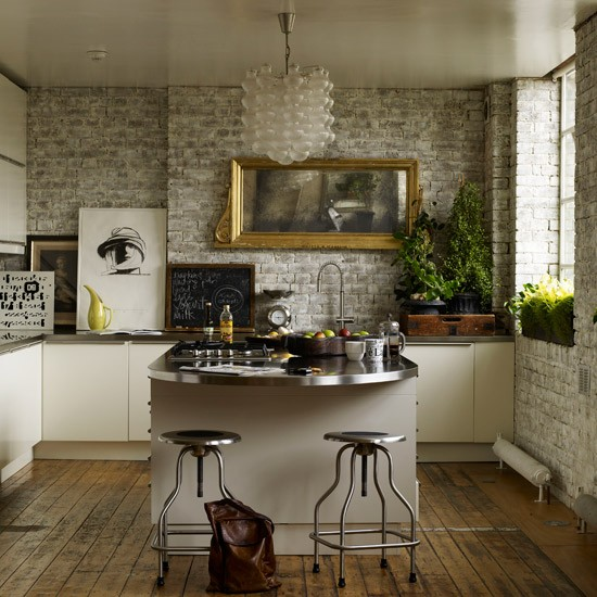 industrial style kitchens best accessories. Black Bedroom Furniture Sets. Home Design Ideas