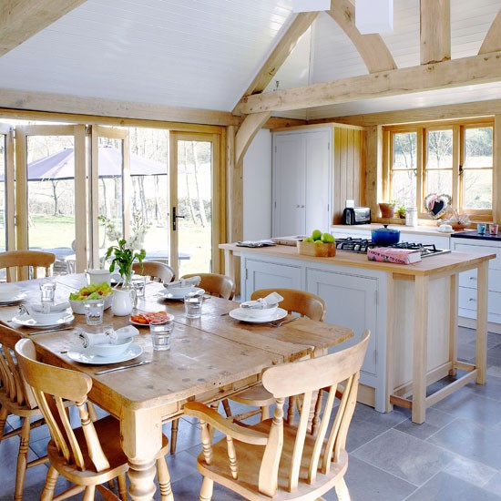 Country Home Design Ideas: Country Kitchens For Summer