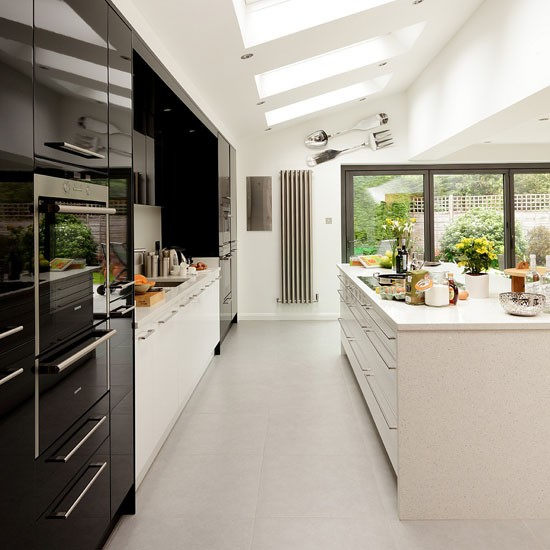 Black And White Kitchen: INTERIOR DESIGN CHATTER : Colour Inspiration