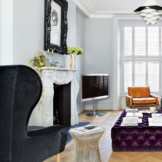 Victorian Living Room: Decordemon: A STYLISH VICTORIAN HOUSE In WEST LONDON